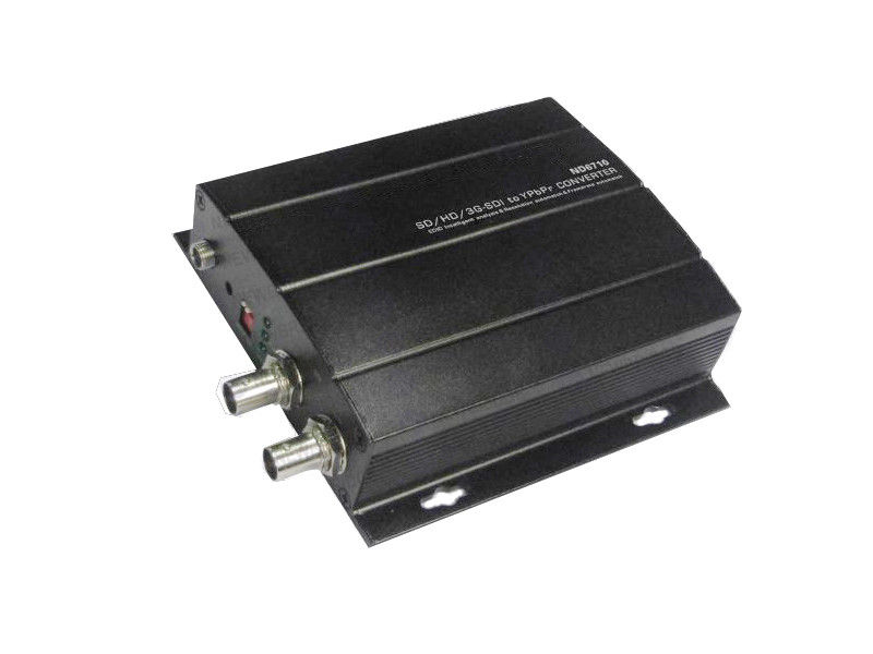 24 V DC HD Fiber Transceiver Single Mode SDI 270Mbps