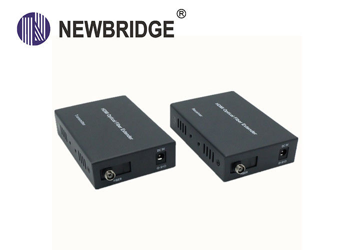HDMI Fiber Optic Kvm Extender 20km 1080P High Resolution Support IR Transmission